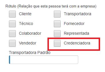 credenciadora